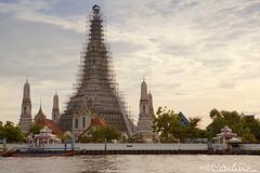 (by claudine) Tags: thailand temple bangkok watarun chaophrayariver templeofdawn travelphotographyworldphotosuniquebyclaudine