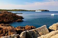 Ice berg, Little Harbour, NL (Bobby Noble) Tags: ocean ice newfoundland coast rocky atlantic iceberg