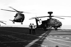 Baltic Operations NATO 2016 (kenneth.gaunt) Tags: ocean sunset army apache europe hampshire portsmouth gunship aac assaultship decklanding mediaoperations surfaceship