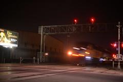 Gilman Street crossing, nighttime, 7-19-15 3 (THE Holy Hand Grenade!) Tags: geotagged berkeleyca emd f59phi amtrakcalifornia nikond610 nikkor50mm14afd