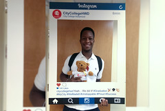 Don St. Remy (CityCollegeHWD) Tags: college hollywood teddybear graduate alumni citycollege congrats
