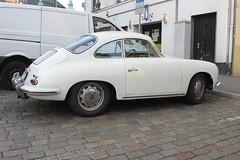 Porsche 356 (magro_kr) Tags: lubeka lbeck lubeck luebeck niemcy germany deutschland szlezwikholsztyn holsztyn schleswigholstein holstein porsche samochd samochod auto pojazd oldtimer retro car vehicle