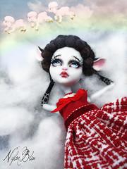 New Little Lady at Home (NylonBleu) Tags: monster high sheep ooak mh custo repaint moutou nylonbleu