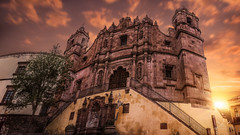 Do I Come In? (http://sotochristian2.500px.com/) Tags: street morning sunset sky panorama sun art church sunshine clouds sunrise landscape mexico cathedral cloudy outdoor catedral iglesia nd zacatecas neutraldensity autopanopro ninjanodal wclx100 fujifilmx100t