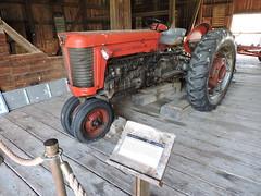 MASSEY FERGUSON TRACTOR (SneakinDeacon) Tags: tractor farm president eisenhower dde masseyferguson