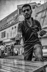 Tea for two (Saman A. Ali) Tags: street portrait people blackandwhite monochrome photography blackwhite tea outdoor f14 streetphotography photojournalism documentary fujifilm 16mm fujinon stphotografia fujifilmxt1