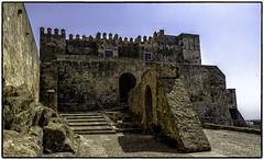 Castle of Tarifa (Mirrorless for me) Tags: castle heritage history spain mediterranean olympus historic adobe plugin nik med tarifa panasonic14140mm coloreffexpro4 olympusem1