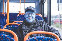 Day 191 (BurningGiraffe) Tags: blue spencer tunick sea hull 2017 hull2017 city culture cool photographer photo seaofhull paint daily post day blog photography pres press mail mass photograph today now this morning street bus travel protrait 50mm nikon d810 happy smiles