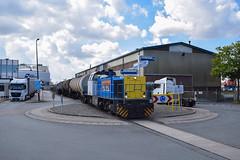 Locon 1505 met ketels te Vlaardingen, 15-07-2016 (Pieter Plas) Tags: vlaardingen vopak 1505 1206 locon