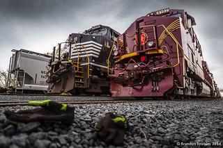 Pennsylvania Railroad Heritage in Mansfield, Ohio