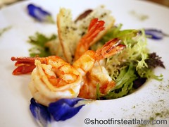 Santander salad (Shoot First, Eat Later) Tags: restaurant philippines manila spanishfood fortbonifacio