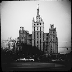 (Andrey  B. Barhatov) Tags: city urban blackandwhite bw architecture noir msk worldmap citywalks iphonecamera kitcam