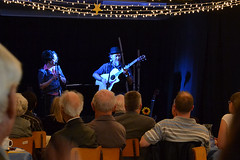 Springtime Coffeehouse (Burns Church, Ashburn) Tags: heather vince peets chappell