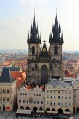 Prague Old Square Town (L. Felipe Castro) Tags: republica city europa europe european republic photographer czech prague capital praga fotografo tcheca luizfelipecastro luizfelipedasilvadecastro europeia