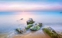 The Morning Mixture (khalid almasoud) Tags: morning light beach ex sunrise dc movement rocks flickr moments waves all photographer pentax  sigma surface 03 rights estrellas kuwait manual af khalid brightness reserved mixture f35 icapture     greatphotographers hsm   photographyrocks k01 10mm20mm almasoud  thebestofday gnneniyisi   anajafh 242013