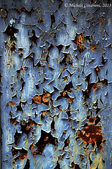 Abstract (Michele Ginammi) Tags: door abstract color colour muro rust colore stains abstraction astratto ruggine macchie astrazione brembatedisopra