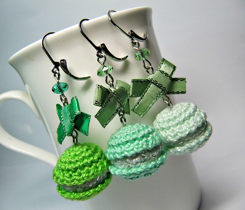 Luna Lovegood and Dobby amigurumi earrings doll crochet from