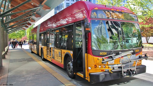 KCM New Flyer DE60LFR #6024