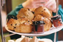R1-04451-0020 (Jennifer Juang) Tags: dessert strawberry afternoon tea blueberry scones jam dickinsons