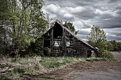 Transparent (Doug Wallick) Tags: old minnesota barn rural day cloudy farm rustic frame lightroom a55 explored picmonkey