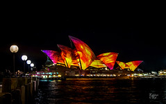 Vivid House (Mike Hankey.) Tags: flickr sydney vivid therocks operahouse sydneyharbour