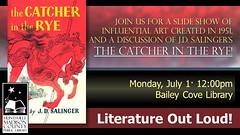 BAI Slide Show -- Literature Out Loud! 2013 07 The Catcher in the Rye (Huntsville Madison County Public Library) Tags: libraries books publiclibrary catcherintherye salinger baileycove hmcpl baislideshow literatureoutloud