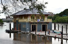 Peter Jay Sharp Boathouse (gigi_nyc) Tags: nyc nature harlem boating rowing boathouse harlemriver newyorkrestorationproject nyrp peterjaysharpboathouse swindlerscove rownewyork harlemriverfestival regatta2013