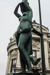 Bronze Lady (Jocey K) Tags: city windows sky sculpture paris france detail building architecture bronze design operahouse stature cosmostour6330