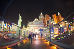 Vegas Vegas (Allard Schager) Tags: nightphotography bridge usa gambling statue architecture night america hotel golden spring nikon paradise nightshot lasvegas nevada unitedstatesofamerica fake vivid kitsch landmark icon casino symmetry spotlight illuminated resort fisheye le rails april 1997 thestrip rollercoaster colourful nikkor amerika lente iconic luxury decadence sincity excalibur gettyimages ladyliberty decadent lightbeam lasvegasstrip 2013 newyorknewyorkhotelandcasino uniquedesign d700 skybeam nikond700 nikonfx nikkor16mmf28fisheye mgmresortsinternational allardschagercom nealgaskin
