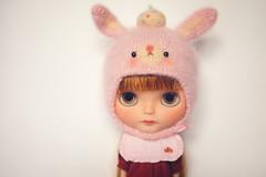 Momo's custom blythe