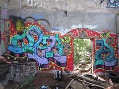 best day ever to go back and finish! (wilderbeaster) Tags: hot graffiti hawaii fuck oahu yes painted north posing front bikini thongs shore chicks honolulu piece freshly