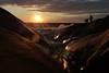 (evisdotter) Tags: sunset sky people sun water colors reflections landscape evening waves sunny cliffs sunsetlight geta åland solen klippor platinumpeaceaward
