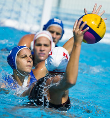 15th FINA World Championships - Water Polo (fina1908) Tags: 2013 barcelona fin world aquatics championships waterpolo pallanuoto women donne australia southafrica cataluna spain esp finaworlds