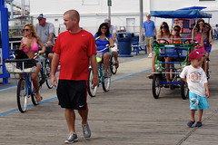 Brothers Vacation Day 5 (7/27/2013) - 01 (nomad7674) Tags: new vacation beach bike bicycle brothers north nj july saturday bikes surrey bicycles shore jersey boardwalk wildwood jerseyshore 2013 brosv brothersvacation 20130727