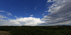 Thunderhead (dcstep) Tags: usa nature canon rainbow colorado fisheye dxo allrightsreserved castlerock thunderhead defish sigma15mmf28exdgdiagonalfisheye canon5dmkiii copyright2013davidcstephens dxoopticspro82 z5a8544dxovs2