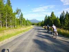 Grand Tetons 8 Day Tour (Doug Goodenough) Tags: tetons pedals spokes tour bicycle bike ride wyoming idaho 2013 gravel grinder packing panniers mountains jen scott steve july august summer drg53113p drg53113ptetons camping scenic drg531