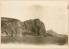 [Rock formation from the Black Sea, possibly between Sevastopol and Alupka]