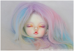 PKF Vanilla for Lil Spark (Eludys) Tags: doll vanilla bjd fairyland faceup pkf pukifee eludys