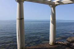 Livsnjutning (auzgos) Tags: strand juli vatten sommar vättern pelare livsnjutning fotosondag fs130901