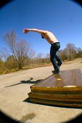 2 (Dustin O'Donnell) Tags: friends summer skateboarding wideangle spot skatepark flip skate ghetto grind