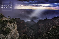 Grand Canyon (mikem1115) Tags: blue light arizona sky nature rain clouds interesting nikon rocks purple grandcanyon awesome canyon rim nikond7100