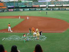 P1000681 (celeste_mer) Tags: 棒球 台南棒球場 2009年