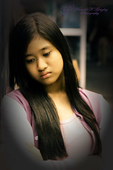 """Anne Julia (""""DeeJoy"""") Tags: portrait people girl face fashion female pose hair cool model philippines posing style filipina filipinos peopleposes"""