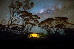Australia (john white photos) Tags: camping sky night stars australian australia tent clear outback southaustralia milkyway eyrepeninsula gawlerranges