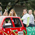 """<b>Homecoming Parade 2013</b><br/> The 2013 Homecoming Parade took place on Saturday, October 5. Photograph by Jaimie Rasmussen<a href=""""http://farm8.static.flickr.com/7308/10127928496_4e5fc552f4_o.jpg"""" title=""""High res"""">∝</a>"""