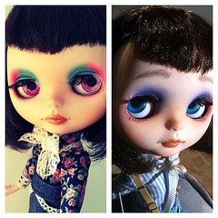 Oli before and after. I made Oli for my sister 2years ago and now i've remade her again. Better?