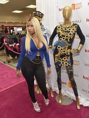 Nicki Minaj launching her clothing collection at Kmart in Los Angeles (October 15). (Angel Cabrera Productions) Tags: los clothing october angeles 15 her collection nicki kmart launching minaj