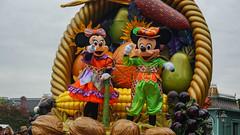 Mickey's Halloween Celebration (peetersthomas) Tags: autumn rabbit halloween pumpkin dale disneyland disney mickey donald scrooge parade daisy chip winniethepooh pluto piglet scarecrows disneylandparis clarice cavalcade pumpkinmen halloween2013 clarabellacow mickeyshalloweencelebration