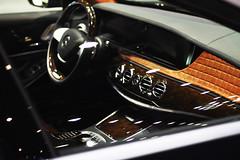 Stitch'd (| Musfirs) Tags: black dubai uae autoshow arab german mercedesbenz arabia matte motorshow brabus dxb v12 sclass b50 brabusb50 sclass20142014