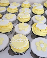 Lemon Baby Shower Cupcakes (Heavenly-Cupcakes) Tags: nottingham baby ...